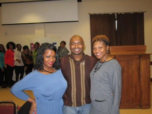 Authors Pat Tucker, Earl Sewell and Jae Henderson