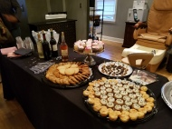 The dessert bar in Memphis received rave reviews!
